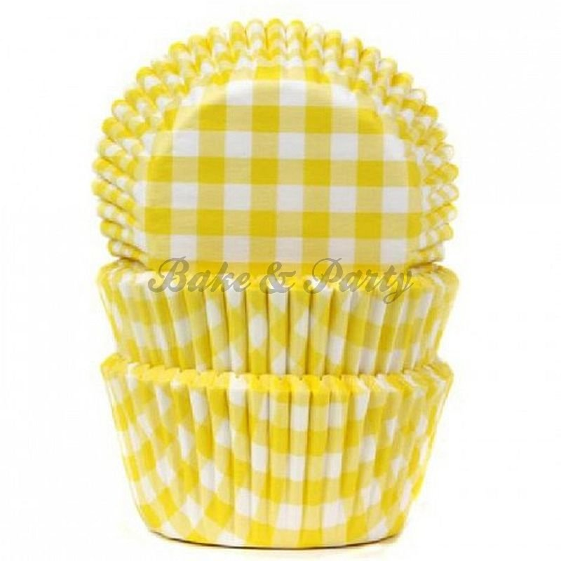 House Of Marie - Gingham Yellow