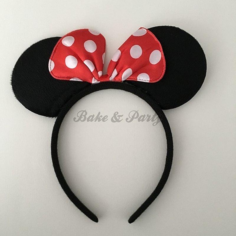 "Diadeem ""Minnie Mouse"" (Rode Strik)"