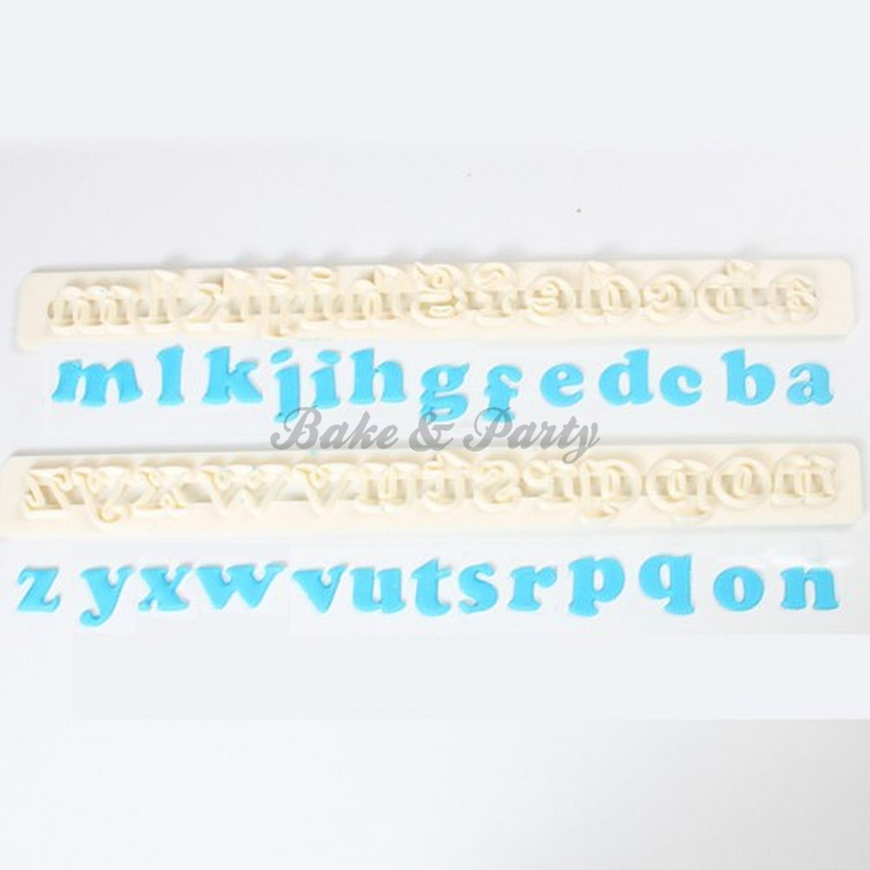 FMM  - Alphabet Tappits (Lower Case Art Deco)