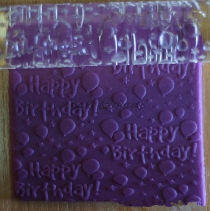 "Reliëf Roller ""Happy Birthday"""
