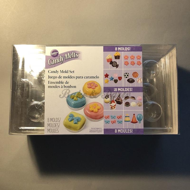 Wilton - Party Pack - Candy Mold Set (8 stuks)