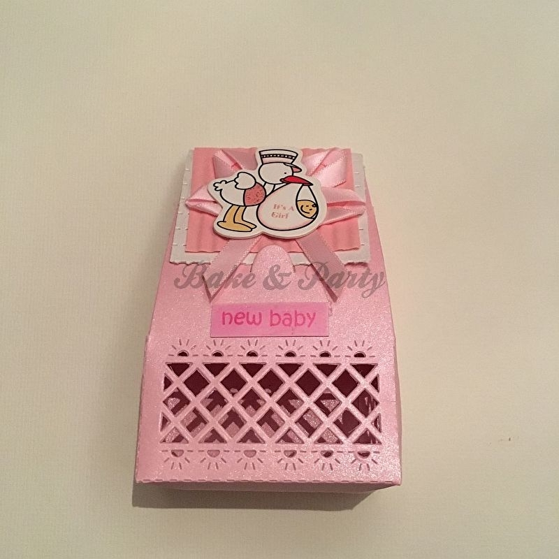 """Giftbox """"It's A Girl""""  Roze"""