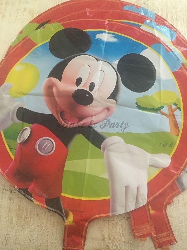 """Folie Ballonnen Set """"Mickey Mouse"""" (2) (5 stuks)"""