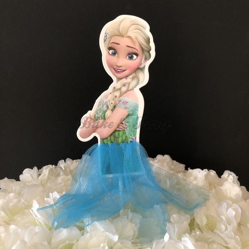 """Taart Topper """"Elsa"""" (2)"""