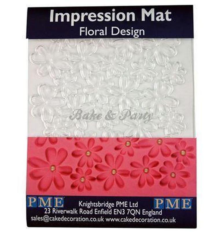 PME - Impression Mat - Floral Design