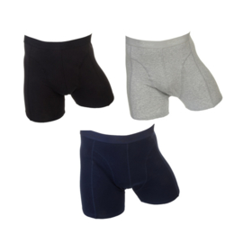 Fun2wear Strakke Boxershort 3-pack Basic