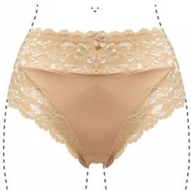 J&C Underwear Dames Slip 805 5-Pack Beige