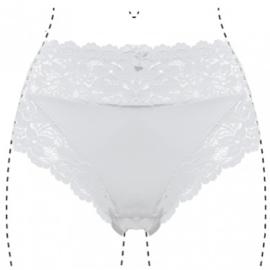 J&C Underwear Dames Slip 805 5-Pack Wit