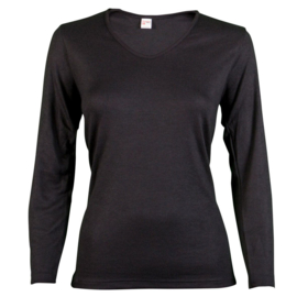 Beeren Thermo Dames Shirt Zwart