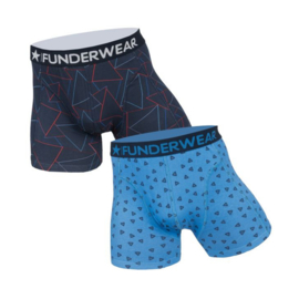 Funderwear Heren Boxershort 2-pack Driehoek-Triangel