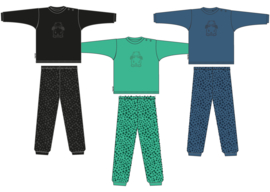 Frogs and Dogs Baby Pyjama Groen