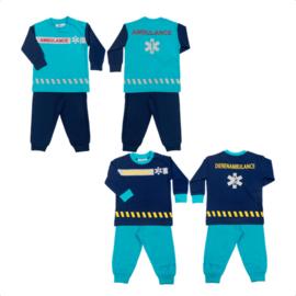 Fun2wear Pyjama Dierenambulance Navy