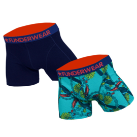 Funderwear Heren Boxershort 2-pack Toucan