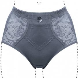 J&C Underwear Dames Tailleslip Licht Corrigerend 201 Grijs