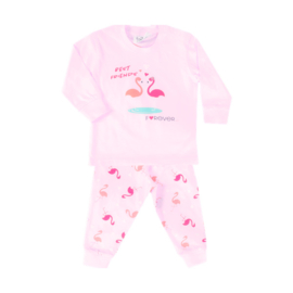 Fun2wear Pyjama Flamingo Roze