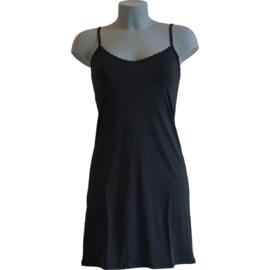 J&C Underwear Dames Onderjurk 5841 Zwart