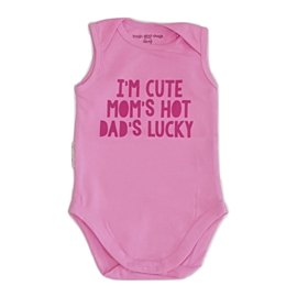 Frogs and Dogs Romper Cute Hot Lucky Roze