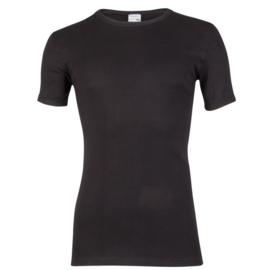 Beeren Heren T-shirt Ronde Hals Extra Lang M3000 Zwart