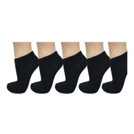 Naft Sneaker Sokken 5-pack Zwart