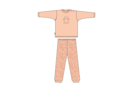 Frogs and Dogs Baby Pyjama Roze