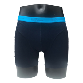 Fun2wear Strakke Boxershort Navy/Aqua