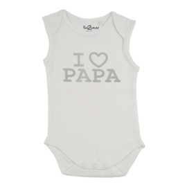 Fun2wear Romper I Love Papa Wit