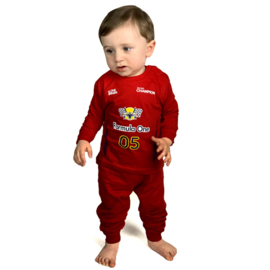Fun2wear Pyjama Formule 1 Rood