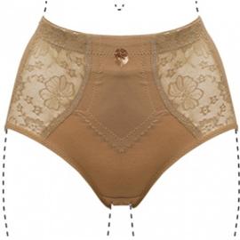 J&C Underwear Dames Tailleslip Licht Corrigerend 201 Beige