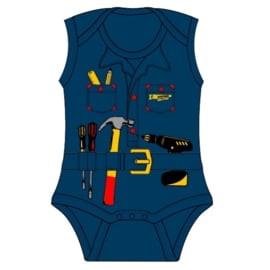 Fun2wear Romper Handyman Navy
