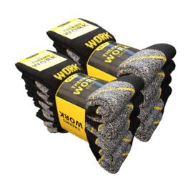 Work Thermo Sokken 5-pack Zwart/Grijs