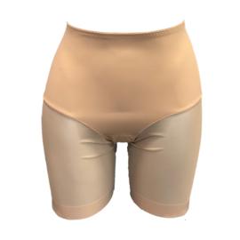 J&C Underwear Dames Boxershort string met gaas 8130 Beige