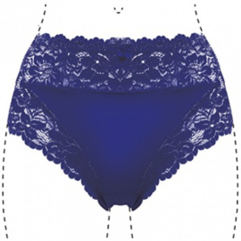 J&C Underwear Dames Slip 805 5-Pack Blauw