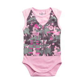 Fun2wear Romper Bootcamp Roze