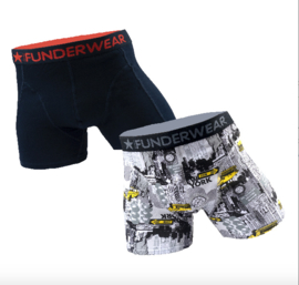 Funderwear Heren Boxershort 2-pack Big City