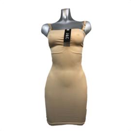 J&C Underwear Dames Corrigerende Jurk 90086 Beige