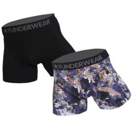 Funderwear Heren Boxershort 2-pack Camouflage