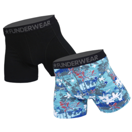Funderwear Heren Boxershort 2-pack Aloha
