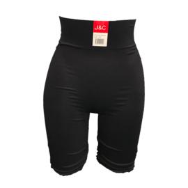 J&C Underwear Dames Corrigerende Boxershort SH8124 Zwart