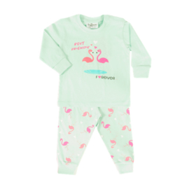 Fun2wear Pyjama Flamingo Mint