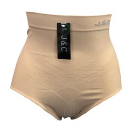 J&C Underwear Dames Corrigerende Slip W736 Beige