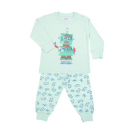 Fun2wear Pyjama Robot Groen