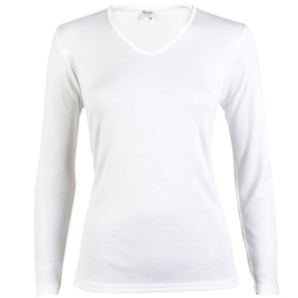 Beeren Thermo Dames Shirt Wit
