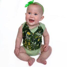 Fun2wear Romper Bootcamp Groen