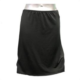 J&C Underwear Dames Jupon 5568 50cm Zwart