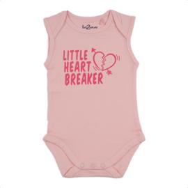 Fun2wear Romper Little Heartbreaker Roze