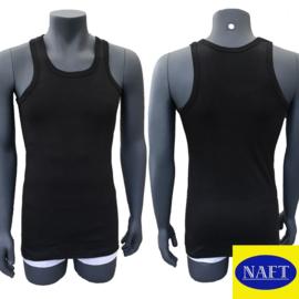 Naft Heren Singlet 6-pack Zwart