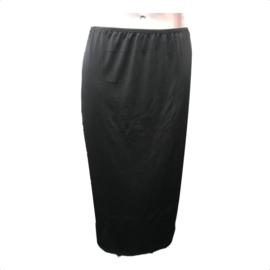 J&C Underwear Dames Jupon 5569 65cm Zwart