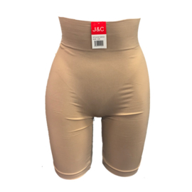 J&C Underwear Dames Corrigerende Boxershort SH8124 Beige