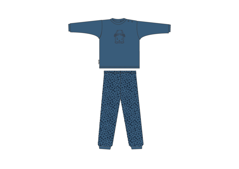 Frogs and Dogs Baby Pyjama Blauw