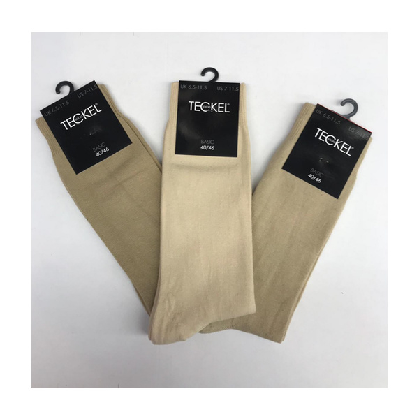 Teckel Business Sokken 3-pack Beige